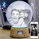 Foto/Text Benutzerdefinierte Mondlampe Nachtlicht 3D-Druck Wiederaufladbare Lampe LED Mondlicht...