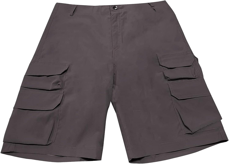 Tantisy Men Shorts Pants Summer Premium Fashion Casual Outdoor Breathable Loose Multi-pocket Comfortable Cargo Shorts