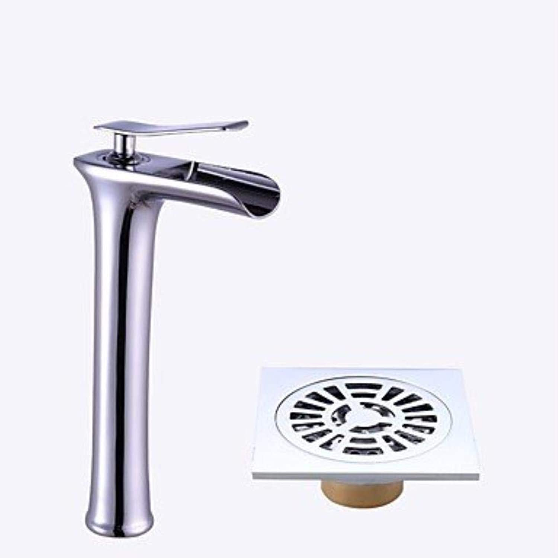 XSRKHome?Centerset Ceramic Valve Electroplated, Bathroom Sink Faucet