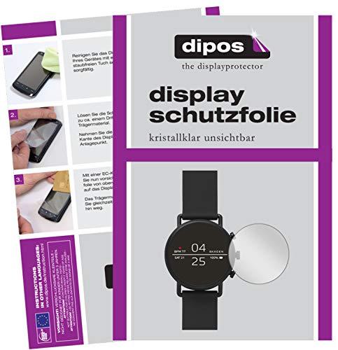 dipos I 6X Schutzfolie klar kompatibel mit Skagen Falster 2 Folie Bildschirmschutzfolie