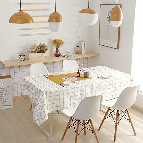 Holiday Dinner Circular Table Cloth, rechthoekige tafelkleden, woonkamer eettafelkleden, dik katoenen linnen, waterdicht afwasbare tafelkleden