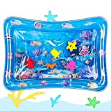 Hitituto Tummy Time Baby Water Mat Inflatable Baby Play Mat Activity Center for Infant Baby Toys 0 to 24 Months, Baby Gifts for Newborn Boys Girls