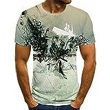 SSBZYES Camisetas De Verano para Hombre Camisetas De Manga Corta para Hombre Camisetas De Cuello Redondo para Hombre Tops De Verano Camisetas con Estampado De Moda Tops Casuales
