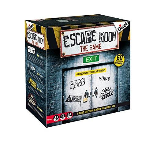 Diset - Escape Room The Game – Brettspiel für Erwachsene ab 16 Jahren