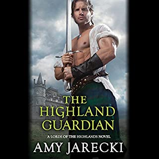 The Highland Guardian audiobook cover art