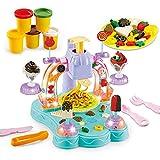 Linbing666 Niños DIY Toys 3D Color MUD Light Music MÁQUINA MÁQUINA HELECHE Hecho Hecho Hecho Hecho CRAZA Creativa Juguete EDUCA