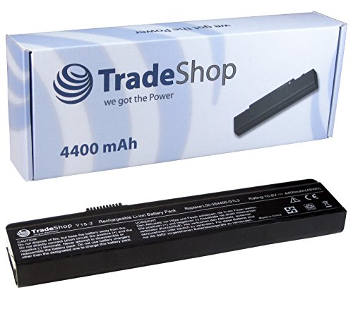 TradeShop Hochleistungsakku für Laptop / Notebook, 4400 mAh,  für Fujitsu-Siemens Amilo Li1818, Li1820, Pi1505, Pi1506, Pi1510, PA1510, PA2510, Pi2512, Pi2520, Li-1818, Li-1820, Pi-1505, Pi-1506, Pi-1510, PA1510, PA-2510, Pi-2512, Pi2515, Pi-2515.