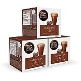 Nescafé DOLCE GUSTO Cacao CHOCOCINO - Pack de 3 x 16 cápsulas - Total: 48 Cápsulas