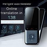 LQLD Traductor de la Lengua de Dispositivos, traductor Pantalla táctil portátil Inteligente de Voz s...