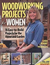 Woodworking Projects for Women: 16 Easy-to-Build Projects for the Home and Garden (Craftswoman Book)