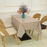 Gdmoon Mantel de PVC impermeable a prueba de polvo para el hogar, cocina, comedor, decoración moderna, 137 x 120 pulgadas ZBLMGD127