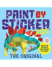 Paint by Sticker Kids, The Original: Create 10 Pictures One Sticker at a Time! (Kids Activity Book, Sticker Art, No Mess Activity, Keep Kids Busy) (Colouring Books)