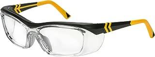 OnGuard Safety OG-225S Eyewear w/Dust Dam Black/Yellow 57mm 61mm (57-16-135)