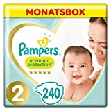Pampers Premium Protection Windeln, Gr. 2, 4kg-8kg, Monatsbox (1 x 240...