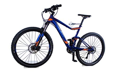 trelixx® Allround Fahrradwandhalterung | Acrylglas | platzsparende Fahrradaufbewahrung | großartiges Design | leichte Montage | perfekt geeignet für viele verschiedene Radtypen