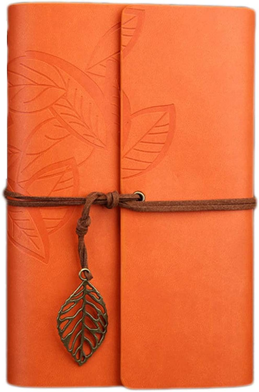 CAIM-Tagebücher Retro Traveller Journal Journal Journal gefüttert Notebook Oxford Reise DIY Notizblock PU Leder Spirale große Fliesen (Farbe   B-S, Größe   6PCS) B07PJ9LGFX   Neuankömmling  1067e1
