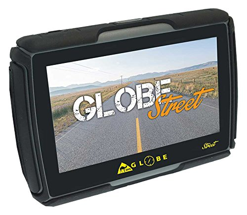 GPS Globe Street GPS Moto 4,3'Naranja/Negro