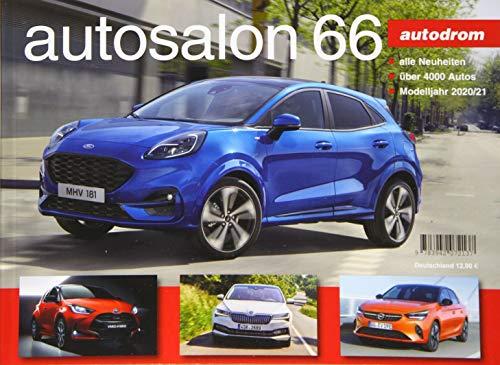 autosalon - autodrom: autosalon 66, Modelle 2020/2021 (autosalon in Buchform)