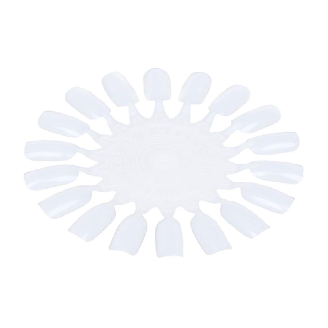 かごくつろぎ異なるRETYLY 10個 メークアップ化粧ネイル ポーランドカラー段ボールカラーチャート18カラー ベージュ