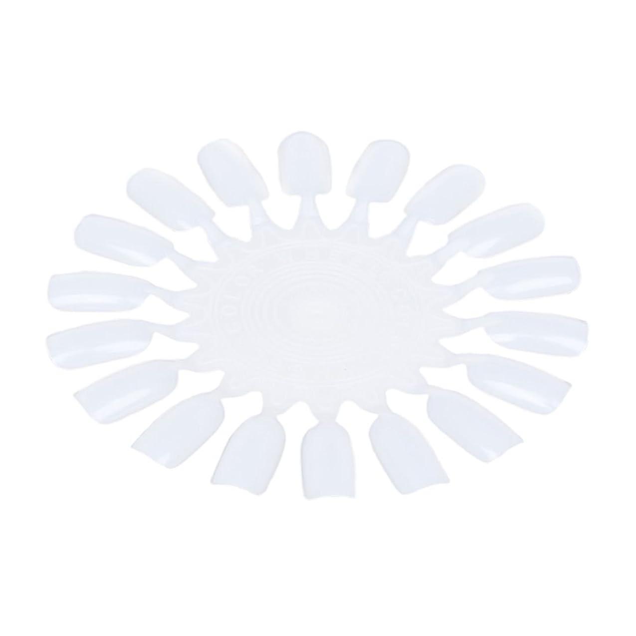 聖域バストオークGaoominy 10個 メークアップ化粧ネイル ポーランドカラー段ボールカラーチャート18カラー ベージュ