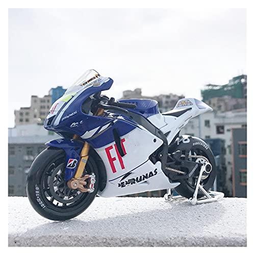 DSWS Motocicleta Miniatura 1:10 para FIAT FOR YAMAHA46TH2009 Aleación Diecast Modelo de Motocicleta Toy Absorbente de Cola para niños para niños Colección de Juguetes
