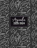 Agenda 2020-2024: Agenda Settimanale Floreale per 5 Anni   Agenda giornaliera, Formato A4, 21x27 cm   Agenda Pianificatore Settimanale 54 Mesi   Copertina Flessibile