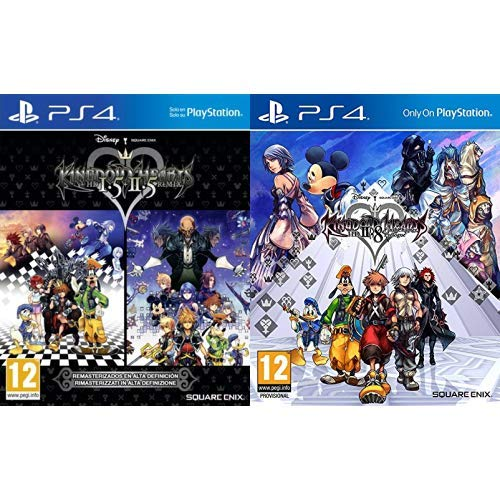 Kingdom Hearts HD 1.5 + 2.5 Remix & 2.8 Final Chapter Prologue - Standard Edition