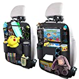 OYRGCIK Backseat Car Organizer, Kick Mats Car Back Seat Protector with Touch Screen Tablet...
