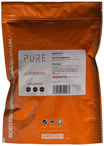 Bodybuilding Warehouse 500 g Pure L-Tyrosine Amino Acid Powder