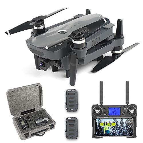Professionell GPS-drone med 4K UHD-kamera, 7-nivå vindmotstånd, 5G WiFi FPV live video uav med borstlös motor, perfekt för utomhusresor