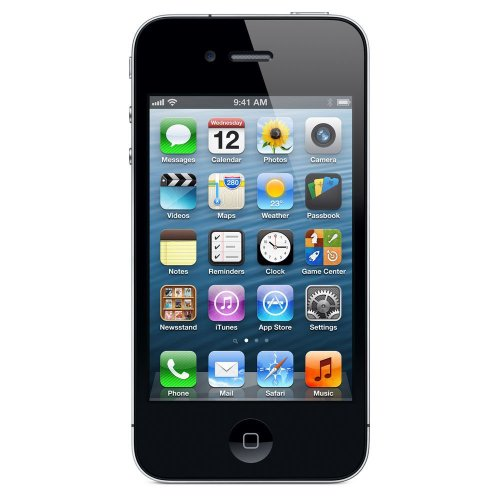 Apple iPhone 4S 16GB Schwarz Smartphone (8,9 cm (3,5 Zoll) Touchscreen Display, 8 Megapixel Kamera, WiFi, UMTS, Unlocked, iOS 9) Simlockfrei (16 GB, Schwarz)
