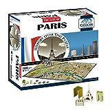 Eleven Force 40028 - Puzzle 4D ciudades, diseño Paris (00289) - Puzzle París 4D (1100)