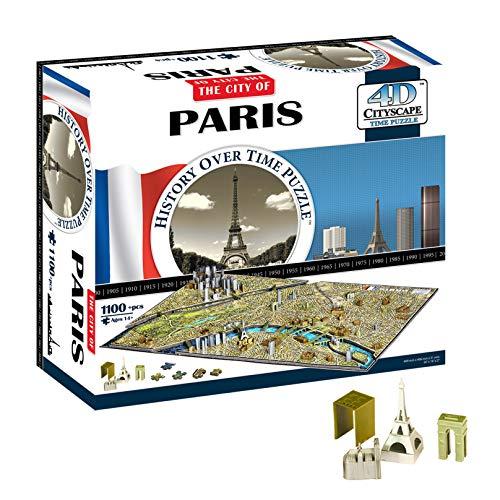 4D Cityscape Paris Time Puzzle (1100 pieces)