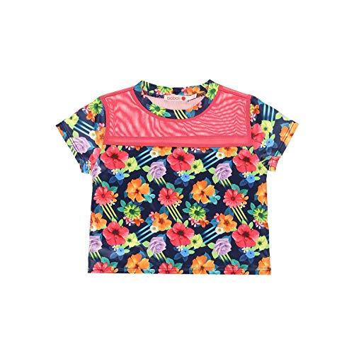 boboli - Camiseta de Deporte Niña, Manga Corta | Talla de 7