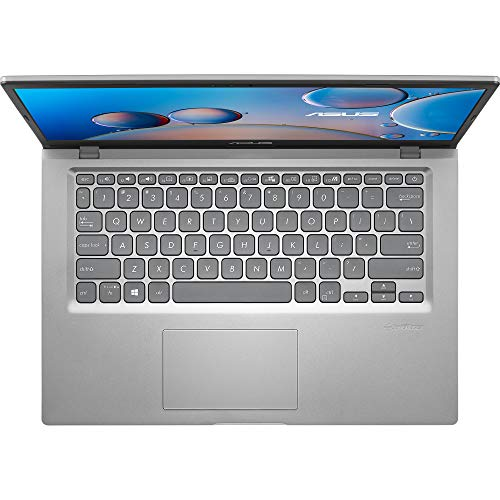 ASUS VivoBook 14 (2020) Intel Core i3-1005G1 10th Gen 14-inch (35.56 cms) FHD Thin and Light Laptop (4GB/256GB NVMe SSD/Integrated Graphics/Windows 10/MS Office 2019/Silver/1.6 kg), X415JA-EK312TS