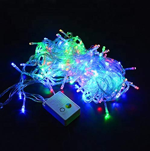 LED Fairy Lights – 36 Feet Long String Lights – Bright Decorative Lights with 140 Bulbs – 8 Light Modes – Memory Function – Waterproof and Flexible Twinkle Lights – for Indoor and Outdoor Decorations