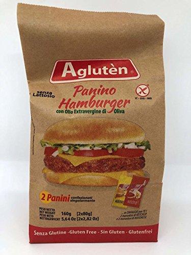 Nove Alpi Agluten Panino Hamburger 160 G