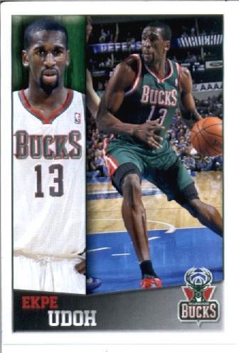 2014 Panini NBA Basketball Sticker (2013-14) #96 Ekpe Udoh MINT