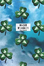 St Patrick's Day Shamrock Gemstone Design Habit Tracker: 120 pages for daily habit tracking and organisation - week to page view