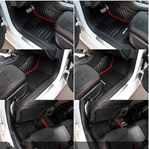 Fit for Alfa Romeo Professional Custom Alfa Romeo Giulia2016-2022 Stelvio2017-2022 Luxury Waterproof Car Floor Mat