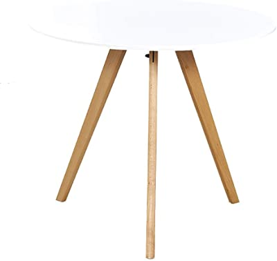 WYNZYBZ Kleiner Runder Tisch, Nachttisch Nordic Living Room