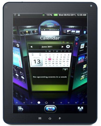Viewsonic ViewPad 10E 25,4cm (9,7 Zoll) Tablet-PC (Samsung 1GHz A8, 512MB RAM, 4GB HDD, Android 2.3) schwarz