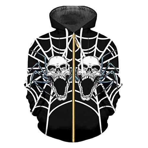 Oinrenstkp El Hombre de Halloween 3D Impreso Telar