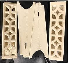 4-Ceramic Bricks Rock Piedra Ceramica Trompo Machine Tacos Al Pastor Adobada
