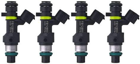 Syuda 4Pcs Fuel Injectors Nozzle Set for 2007-2012 Nissan Cube Versa 1.8L NV200 Sentra 2.0L 16600-EN200 16600EN200 FBY-2850 FBY2850