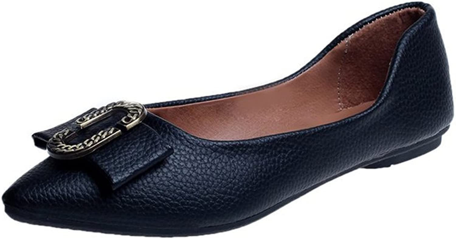 37308949c7c51 Walsh Pa Women Casual Toe Slip-on Slippers Black Pointed Kyle ...