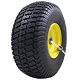 MARASTAR 21426 Front Tire Assembly Replacement for 100 and 300 John Deere Riding Mowers 15' x...