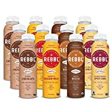 REBBL Everyday Wellness Variety Pack, 12 Ounce (12 Pack)