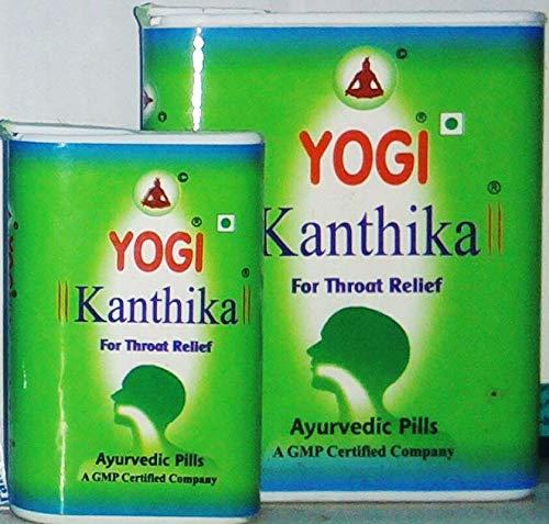 AMIRTHAM Yogi Kanthika Throat Relief Pill (Total 210 Pills)
