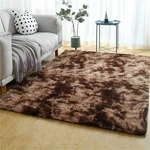WJTHH pluizige tapijten bed tapijt verloop rechthoek lang haar dikke zachte aanraking geschikt voor gang